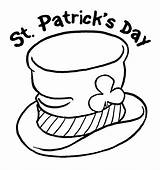 St Patricks Day Hat Coloring Page & Book