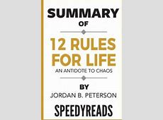 jordan peterson 12 more rules