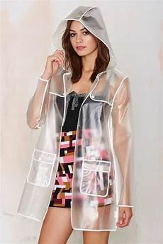 plastic clothes vinyl lyst gal all clear plastic coat
