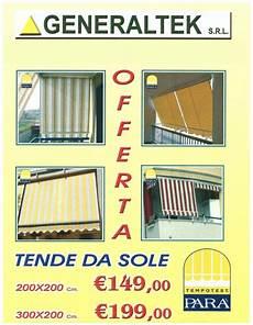 tende da sole roma offerte offerte generaltek