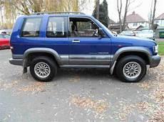 manual cars for sale 1999 isuzu trooper navigation system isuzu 1999 trooper 3 1 diesel turbo commercial van 4x4 off road on