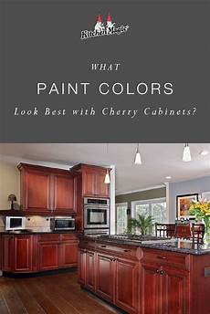 what paint colors best with cherry cabinets in 2019 cherry cabinets kitchen paint