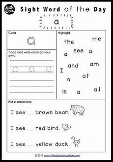 single post preschool sight words sight word worksheets teaching sight words