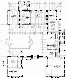 spanish hacienda style house plans spanish house plans with courtyard spanish hacienda house