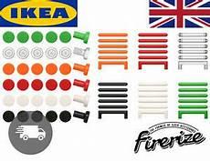 pomelli per armadi camerette ikea satta handles pack of 6 colours