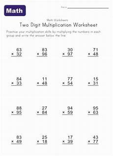 multiplication worksheets by 2 digits 4339 two digit multiplication worksheet 2 homeschool math multiplication worksheets