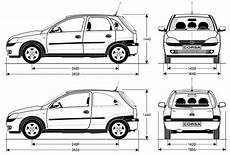 opel corsa abmessungen opel corsa 171 c 187 2000 2003 руководство по ремонту и