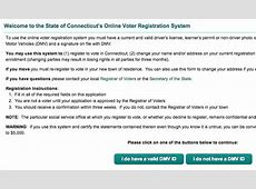 farmington ct voter registration