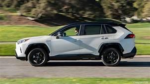 2019 Toyota RAV4 Hybrid XLE Color Blueprint  Side HD