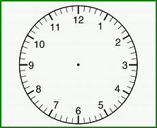 Uhr Vorlage - fabelhaft uhr zum selber basteln uhr vorlage zum