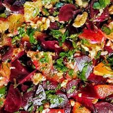 Rote Beete Orangen Salat Rote Beete Salat Rezept