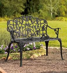 Gartenbänke Aus Eisen - benches patio furniture powder coated aluminum grape vine