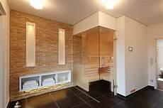 Steinwand In Der Sauna Modern Badezimmer Sonstige