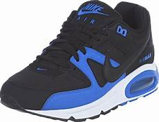 nike air max command shoes black blue