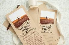 make these free printable photo thank you cards