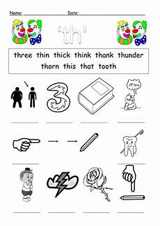 th digraph worksheets by barang teaching resources tes