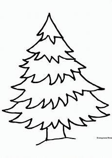 36 Gambar Pohon Natal Kartun Hitam Putih