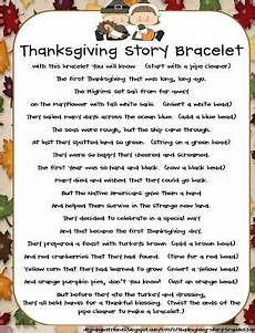 the story of thanksgiving bracelet thanksgiving school