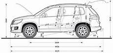 Vw Tiguan Technische Daten - volkswagen tiguan cross dimensioni 01 vdub volkswagen