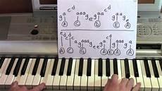 the hanging tree piano tutorial mockinjay youtube