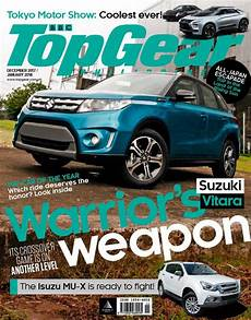 top gear philippines magazine december january 2018