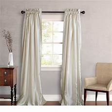 Silk Drapery Panels by New Set 2 Window Curtains Panels Drapes Pair 108 Quot Faux