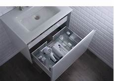 Organize Bathroom Appliances by Vanity Hair Dryer Organizational Insert With Electric