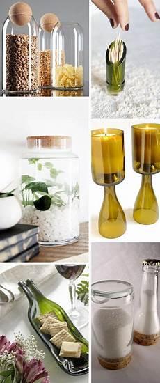 riciclare vasi di vetro ecco come riciclare in modo originale le bottiglie di