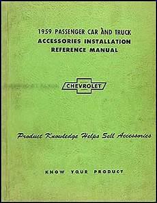 1959 chevy radio autronic eye manual original car truck