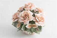 fiori vendita centrotavola in porcellana di capodimonte con sette