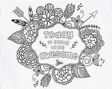 today is going to be awesome coloring page part 2 free resource for teaching