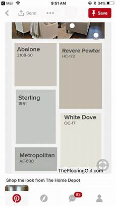 paint color image by kathy henderson white doves home depot revere pewter