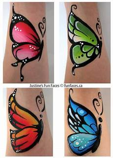 Schmetterling Arm - pin on facepainting