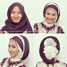 Contoh Model Jilbab Untuk Kebaya Terbaru Foto