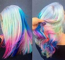 bright hair colors on pinterest bright hair rainbow hair and rainbow hair pretty hair color hair styles pretty hairstyles