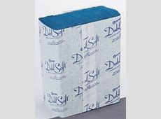 Bay West Dubl Soft Micro Folded Blue Hand Towel, Bay West