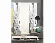 schiebegardinen grau schiebegardine 3er set wuxi grau 60x245 cm bei hornbach kaufen