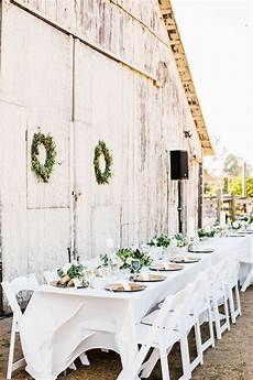 Outside Barn Wedding Ideas
