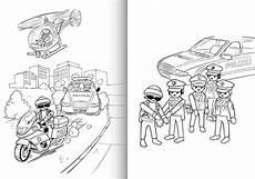 ausmalbilder playmobil polizei sek kinderspielzeug