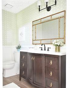 green gold bathroom makeover centsational girl