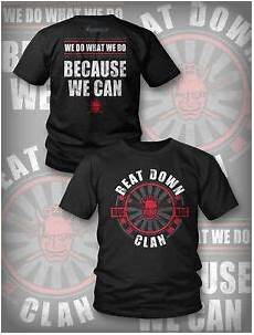 official tna impact beat down clan bdc quot we do what we do quot t shirt ebay