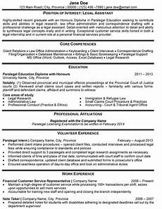 legal assistant resume sle template