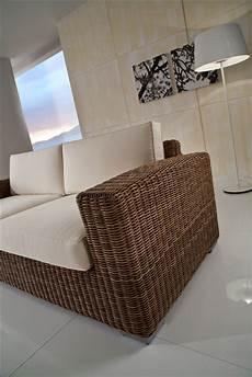 divani esterno rattan sintetico divano 3 posti polyrattan etnico outlet mobili etnici