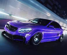 mercedes c63 amg sedan w205 widebody kit with engine