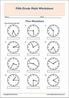 time worksheets 5th grade 3292 5th grade math worksheets telling time