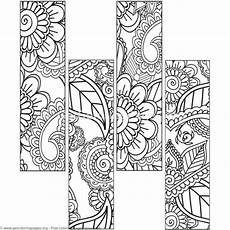12 floral bookmark coloring pages getcoloringpages org