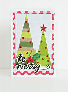 card making be merry christmas card me my big ideas
