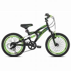 New Boys 18 Inch Avigo Trx 18 Dual Suspension Bike Model