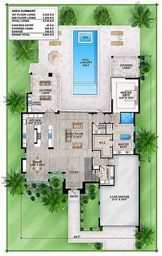 master down modern house plan with outdoor living room 86039bw architectural designs house
