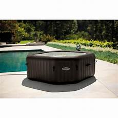 spa gonflable intex spa jets 6 places banquette offerte